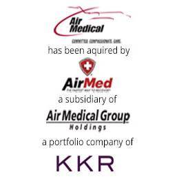 Air Medical has been acquired by AirMed, a subsidiary of AirMedical Group Holdings, a portfolio company of KKR