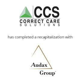 Correct Care Solutions has completed a recapitalization with audax group