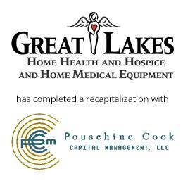 Greatlakes home health has completed a recapitalization with Pouschine Cook
