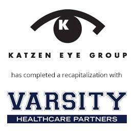 Katzen eye group has completed a recapitalization with varsity healthcare partners