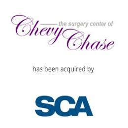 The surgery center of chevy chase has been acquired by SCA