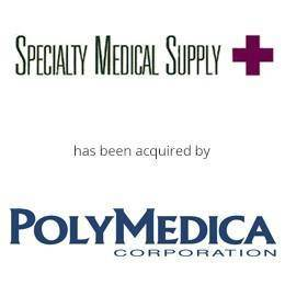 Specialty Medical supply has been acquired by polymedica